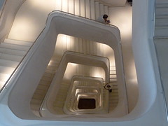 201205123 Madrid Caixa Forum Museum (taigatrommelchen) Tags: madrid urban building art museum architecture stairs spain central perspective explore 20120521