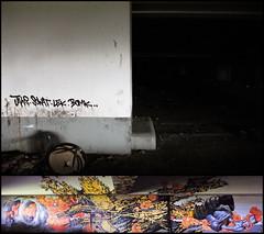 Jaws/Sowat/Lek/Bomk (SÖKE) Tags: street urban terrain streetart paris art colors wall painting lost graffiti paint artist couleurs tag letters style spot spray peinture painter graff mur bombing abandonned lettres graffeur banlieue photographe abandonné graphotism vierge soke lieu friche batîment