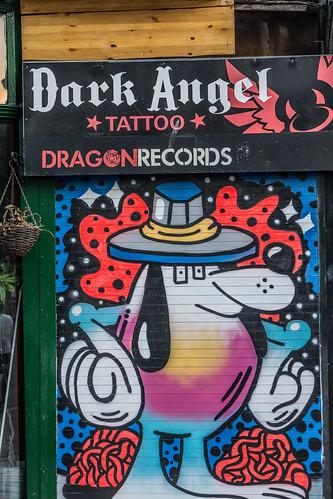 "Dark Angel ""Tattoo"" and Dragon Records (Belfast)"