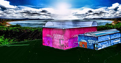 Home in Construction (Nelly.YQB) Tags: art colours surreal digiart