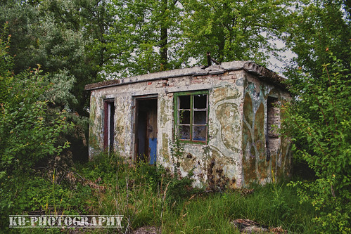 abandoned guard house