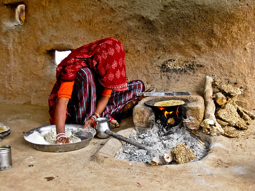 Cooking - Rajasthan - India