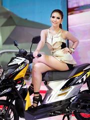 IG9C5154s (tony8888) Tags: show sexy beautiful car race thailand model pretty bangkok queen impact thai motor 2012