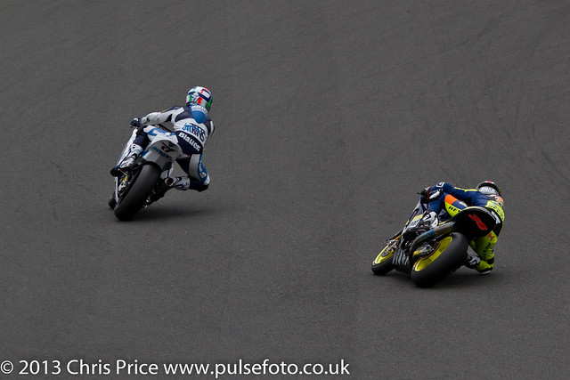 Bradley Smith competing for the lead
