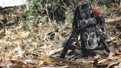 IMG_1411 (ChatchawanB.) Tags: red thailand soldier caesar bamboo 3a sholder zomb squad custom shoulder fantome wwr deplume threea threeatoys threealegion