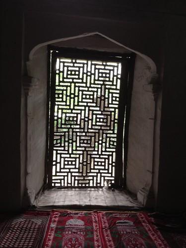 Window of Khanqah e Nubakhshia shigar Marapi, Baltistan