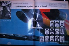 The Fruitless War (anomalousclouds) Tags: pictures life history century vintage magazine aviation year flight nostalgia crime commercial airlines 1972 20th 727 hijacking skyjacking