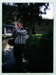 Bill in the Park (Alex Luyckx) Tags: city people urban ontario canada film lomography downtown fuji meetup hamilton photowalk instant fujifilm ccr instax instantphotography filmphotography fujiinstax instaxmini filmisnotdead epsonv700 filmisalive lomoinstant believeinfilm adobephotoshopcc classiccamerarevival lomography27mm18 ccrgasmeet16