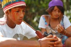 jeguaka e kamilla (pnemeth) Tags: portrait paulo so guarani mirim krukutu jeguaka