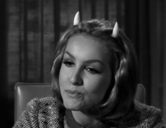"Julie Newmar, ""Of Late I Think of Cliffordville"" 33 (Tom Simpson) Tags: woman sexy television vintage devil 1960s pinup devlin julienewmar succubus thetwilightzone vintagetelevision"
