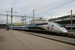 SNCF TGV 4402 384 003 Weltrekord 574,8, Zrich Hbf (michaelgoll777) Tags: tgv sncf