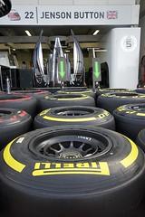 Jenson Button / McLaren pit - tyres (david_b) Tags: f1 monaco sigma1020mmf456