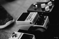 the Pedals (Daniel Y. Go) Tags: bw music effects mono fuji philippines pedals christianity worshipteam effectpedals xpro2 fujixpro2