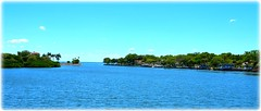 View from Snell Isle Bridge - St Petersburg, Florida (lagergrenjan) Tags: view from snell isle bridge st petersburg florida