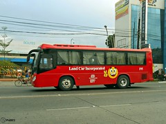 Land Car Inc. 195 (Monkey D. Luffy 2) Tags: road city bus public photography photo coach nikon philippines transport vehicles transportation coolpix daewoo vehicle society davao coaches aspire philippine enthusiasts philbes bs090
