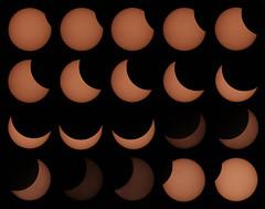 Eclipse solaire du 20 mars 2015 - Nuits-Saint-Georges (21) (Didier Auberget) Tags: sun soleil crescent telescope astrophotography astronomy solareclipse astrophotographie tlescope canoneos500d eclipsesolaire atronomie