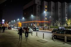 Katowice (nightmareck) Tags: night europa europe fuji streetphotography poland polska handheld fujifilm katowice fujinon silesia pancakelens xe1 apsc mirrorless lskie grnylsk xtrans fotografiauliczna fotografianocna xmount xf18mm xf18mmf20r bezlusterkowiec