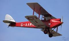 De Havilland DH-60G Gipsy Moth. G-AAWO Lee on Solent Airfield 2016 (SupaSmokey) Tags: de moth lee solent airfield gipsy 2016 havilland dh60g gaawo