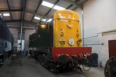 Midland Railway Centre (DM47744) Tags: travel english electric train nikon track centre transport traction shed rail railway loco trains class depot british locomotive 20 midland locomotives preservation 20001 swanwick overhaul 8001 d8001 d3100