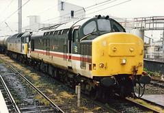 BR Class 37/4 37431 & Class 47 - Warrington Bank Quay (dwb transport photos) Tags: tractor warrington locomotive britishrailways warringtonbankquay 37431 bullidae