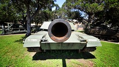 Business End of an M1A1 Abrams (Phil Ostroff) Tags: tank military mbt abrams m1a1