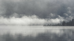 Morning at the Lake IV (Robert Guenther) Tags: morning bw lake water landscape sony 7 alpha