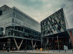 Manchester (Reynard_1884) Tags: city uk greatbritain england building architecture manchester olympus lancashire armani em5 mirrorless microfourthirds micro43rds mu43 olympusomd olympusomdem5