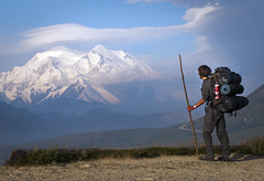 Backpacker (US Department of State) Tags: landscape visitors mtmckinley denalibackcountry
