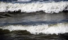 High tide at Earnse Bay (billnbenj) Tags: surf spray cumbria barrow hightide walneyisland earnsebay 9metretide