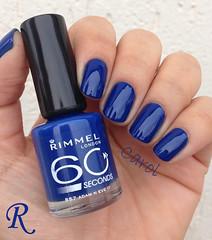 R - Adam N Eve It - Rimmel (carolinaguimaraes) Tags: azul presente rimmel desafiofilhonicoaz