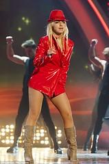 Britney Spears in vinyl jacket (Plastic Fashion Queens) Tags: music fashion spears coat vinyl plastic jacket singer britney pvc