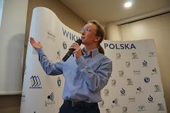 Szymon Grabarczuk (Borys Kozielski) Tags: wikipedia wikimedia coference wikimediapolska