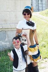 Steam-mom! (Vawen) Tags: italy costume funny cosplay victorian steam cosplayer steamer gentleman friuli steampunk palmanova victorianlady steampunkitalia steampunknordest
