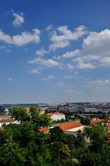 View towards TV tower from Prague Castle (black_betty2) Tags: praha praskhrad tschesche