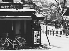 Takayama Streets (Jon-F, themachine) Tags: winter snow streets japan asian asia olympus  nippon japo oriental orient fareast takayama  gifu   nihon omd japn hidatakayama 2016    m43  mft  gifuken    mirrorless   micro43 microfourthirds  ft xapn jonfu  mirrorlesscamera snapseed   em5ii em5markii