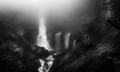 Dream World (Wicaksono TI) Tags: blackandwhite bw black nature canon landscape photography photo waterfall amazing interesting flickr natural photos blacklight stunning autofocus greatphotographer bestphoto naturfotografie blackwhitephotos flickrbest bestphotography natgeolive highlandnature