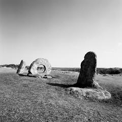 Men-an-Tol (Mark Rowell) Tags: uk bw 120 6x6 film mediumformat cornwall fuji hasselblad aleistercrowley neolithic acros swc 903 menantol ithellcolquhoun