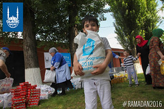 Islamic Relief's Ramadan food distribution in Chechnya