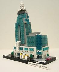 Great_American_Tower_1 (TheWarden007) Tags: lego contest moc eurobricks greatamericantower cincinnati ohio