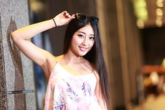 DP1U1403 (c0466art) Tags: blue portrait baby hot girl beautiful smile face female night canon photo nice eyes asia long pretty pants jean legs sweet gorgeous taiwan short figure attractive charming 1dx c0466art