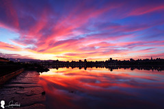 2016-06-20  (Steven Weng) Tags: clouds sunrise canon eos taiwan taipei    skyfire 2016   ef1740    eos5d2