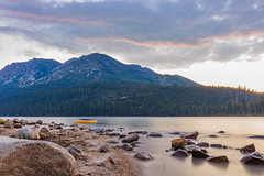 Camping 2016-23 (Supreme_asian) Tags: sunset lake water sunrise canon bay long exposure tahoe emeral 700d t5i