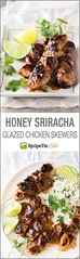 Honey Sriracha Glaze (alaridesign) Tags: honey sriracha glazed chicken skewers