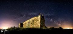 Convento de Nuestra Senora del Soto (JoseRGarcia68) Tags: night de noche via nocturna zamora villanueva lactea campen