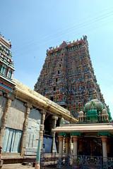 Gopuram, Meenakshi temple