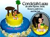 Cordejah Luau birthday cake (Anita (Auckland Cake Art)) Tags: birthday new flowers wedding party baby art cakes girl cake seashells island stag chocolate auckland zealand luau pineapple palmtree frangipani samoa pacifica samoan hens fondant tongan fale sugarpaste cricut aucklandcakeart