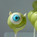 "Mike Wazowsky Monster's Inc. Cake Pops • <a style=""font-size:0.8em;"" href=""https://www.flickr.com/photos/59736392@N02/6967318418/"" target=""_blank"">View on Flickr</a>"