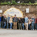 Study abroad program in Italy - Sorrento - ASC architecture students and faculty pose at Sorrento's town sign