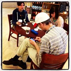 Travelers, Houston TX (hurgrace) Tags: square lofi houston squareformat umkc gowin iphoneography uploaded:by=instagram texasinstagramapp