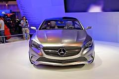 Mercedes-Benz Concept A at the 32nd Bangkok Motorshow (UweBKK ( 77 on )) Tags: show cars car thailand model asia bangkok sony models motorbike thong impact mercedesbenz motor accessories motorcylce concept southeast alpha dslr thani challenger motorshow 32nd 550 muang mueang a